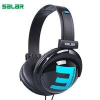 Salar R1 Portable Over Ear Headband 3 5mm Wired Earphone Stereo Headset Foldable Headphone For IPhone