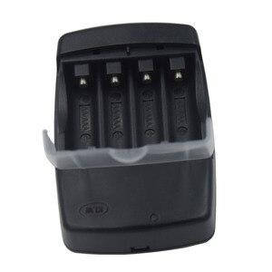 Image 4 - Cargador de batería con pantalla LED de 4 ranuras, para pilas de litio alcalinas AA, AAA, AAAA, 1,5, 14500, 16340, 10440, 10340, 3,7 V