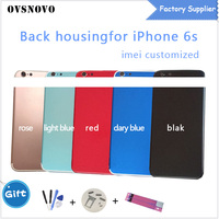 For IPhone 6S A1688 A1633 Back Middle Frame Chassis Housing Assembly Battery Cover Buttons Sim Tray