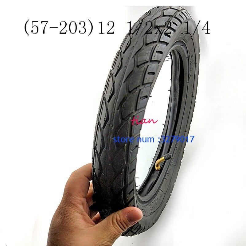 (57-203) 12 1/2x2 1/4 Reifen Rohr Rohr 12x2,125 Trye Passt Viele Gas Elektro-scooter E -bike Faltrad Fahrrad Kind Fahrrad