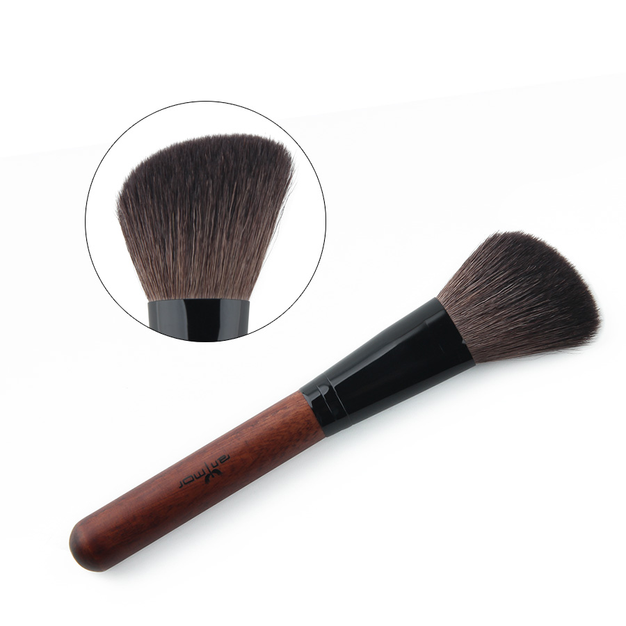 Anmor Brand High Quality Blush Brush Professional Makeupborstar - Smink - Foto 4