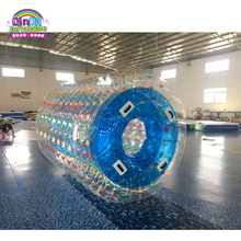 New Design Inflatable Water park toys transparent water ball inflatable bubble rolling ball with free pump
