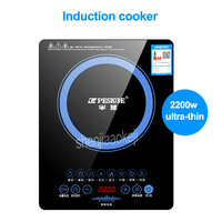 220V/50HZ 2200w Induction Cooker Home Intelligent Electric Furnace hot pot stove No Radiation Multi cooker Kitchen Cooking Tool