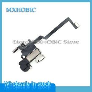 Image 3 - 5 sztuk/partia głośnik ucha dla iPhone X XS Max XR słuchawka słuchanie czujnik Flex Cable części zamienne darmowa wysyłka