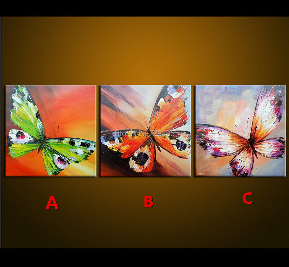 Living room oil paintings - 3_