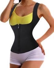 Hot Body Shaper Neoprene Shapers Waist Trainer Corsets Weight Lossing Vest Sweat Sauna Vest Tummy Shapewear Slimmer Tanks Tops