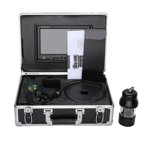 Image 4 - 9 Inch DVR Recorder Underwater Fishing Video Camera Fish Finder IP68 Waterproof 38 LEDs 360 Degree Rotating Camera 50M 100M