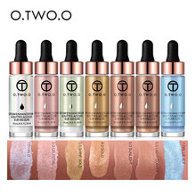 O.TWO.O  15ml Liquid Highlighter Contouring Make Up Natural Glow Enhancer Highlighting Lotion Brighten Shimmer 3D Highlighters