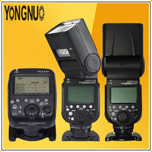 YONGNUO Universal 2*YN968EX-RT Wireless Master TTL HSS Flash Speedlite + YN-E3-RT Radio Trigger Transmitter For Canon