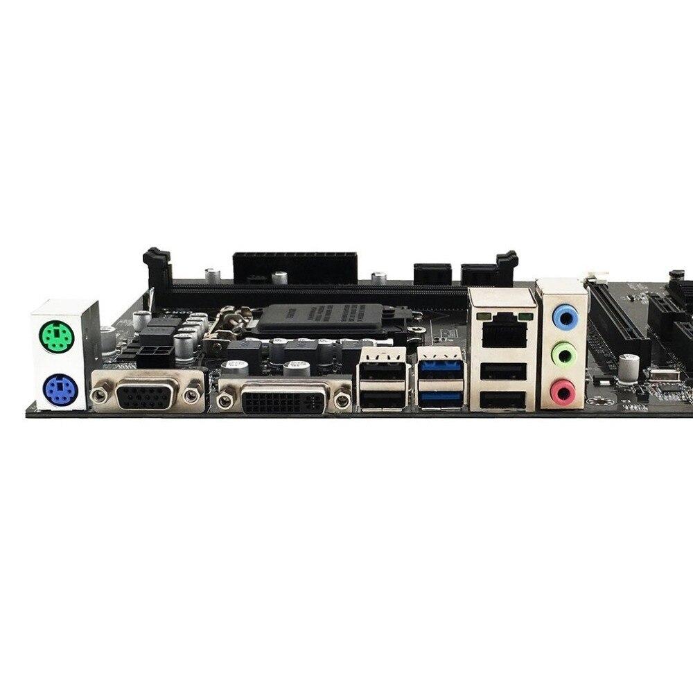 B250 BTC 12 карты LGA1151 DDR4 профессиональный настольный компьютер материнская плата Высокая производительность компьютера аксессуары