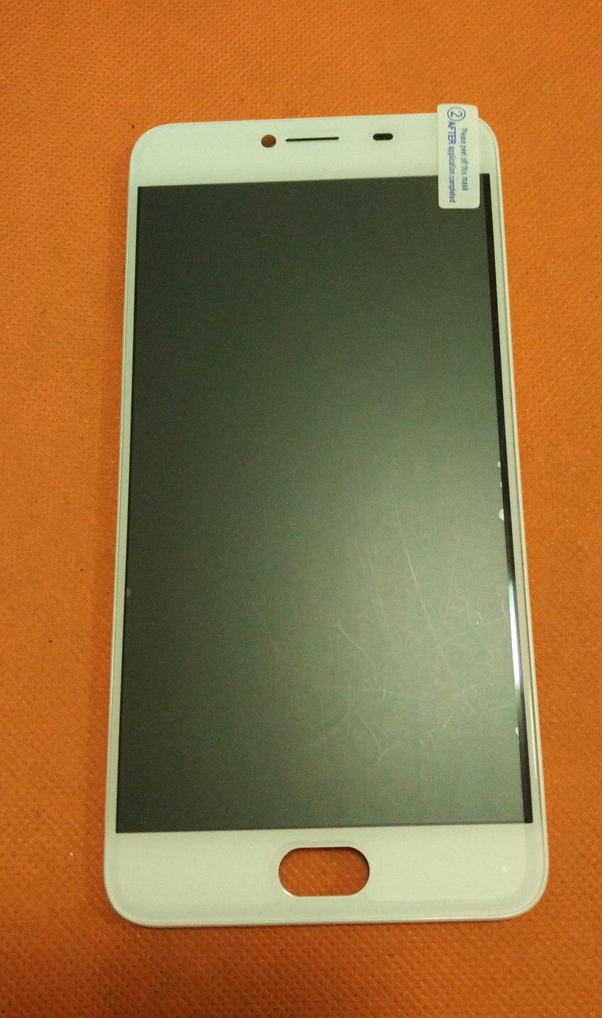 Usado Original Display LCD + Digitador Touch Screen + Quadro para UMI Z MTK Helio X27 Deca Núcleo 5.5