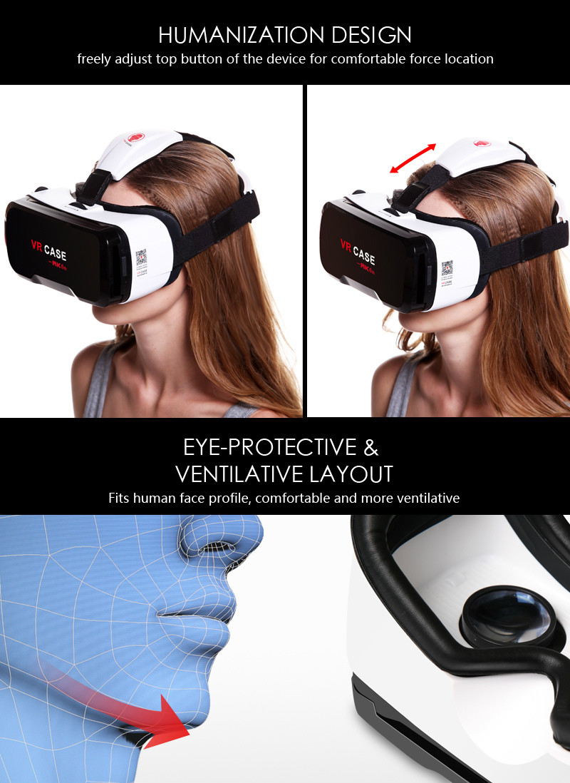 Virtual Reality Glasses VR Box Rirtual Reality Helmet Touch Function 3D Glasses VR Wearing Equipment 24