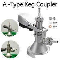 A type Keg Coupler Draft Beer Dispenser For Home Brew Connectors Coupler Head For Home Brew Wine Beer Dispenser Brewing