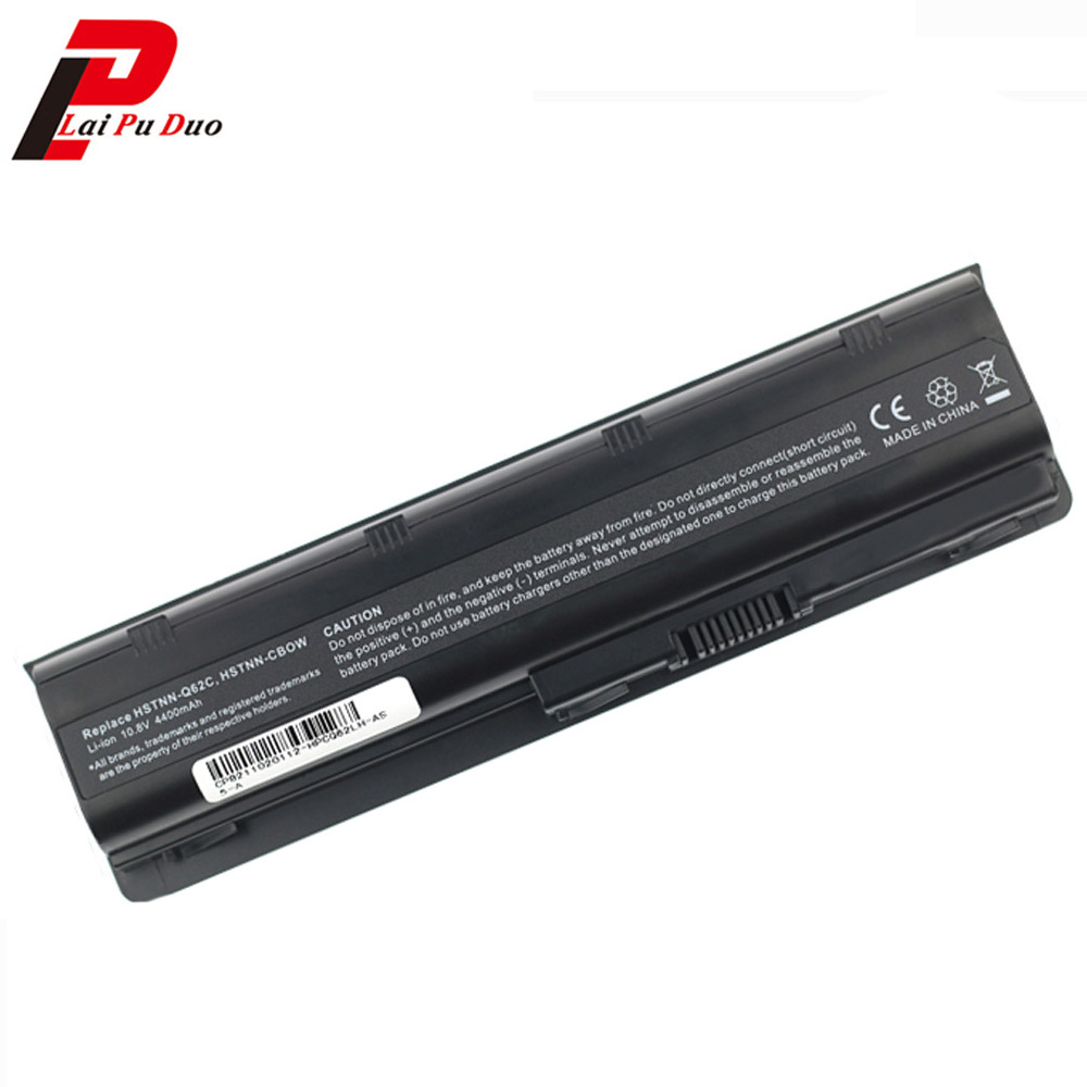 Аккумулятор для ноутбука HP 4400 2000z-100 CTO 2000 430 431 630 631 635 G32 G42t G56 G62t G62m G62x 6 ячеек, 636 мАч