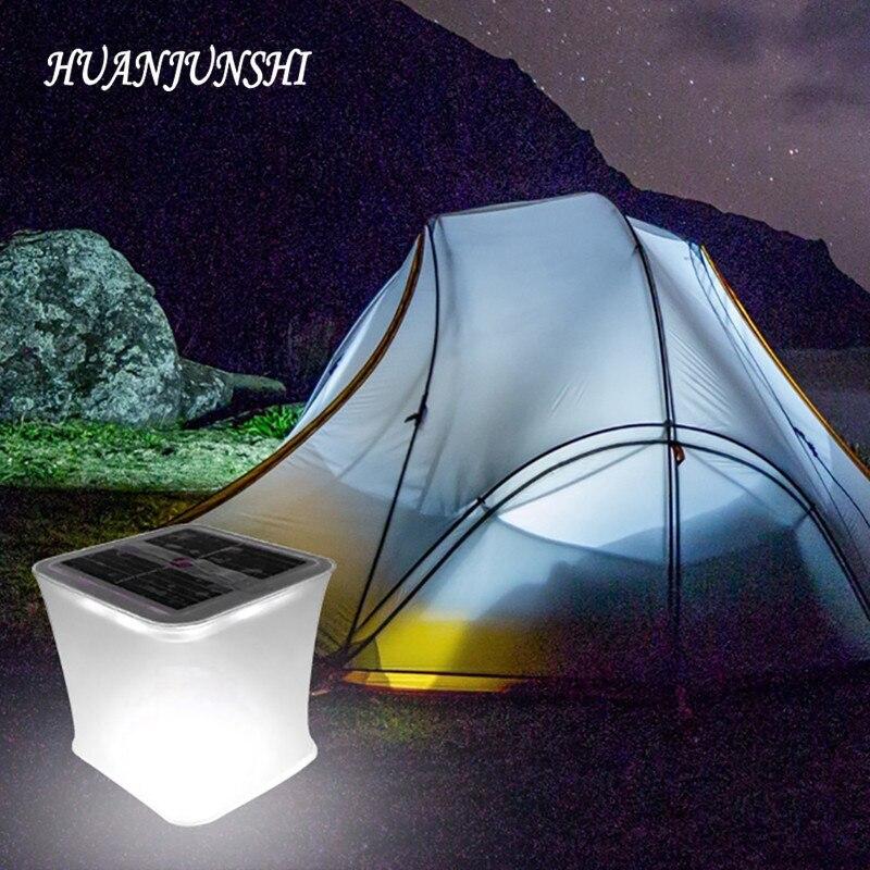 Lâmpadas Solares huan shi junho luz solar Características : Touch Switch/square/inflatable/foldable