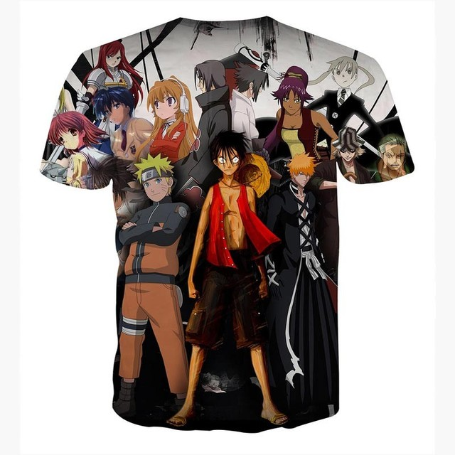 High quality Cool Tshirt Men Women hot 3d Tshirt Print Anime Family