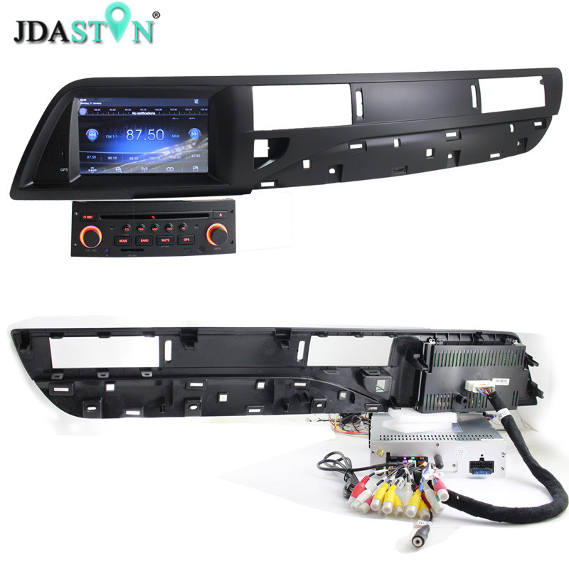 JDASTON 7 Android 6 0 Touch Screen font b Car b font CD DVD Player For