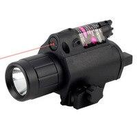 200 לום טקטי קומבו 2in1 טקטי קרי פנס LED/אור + אדום לייזר/אייה קומבו הגעה מותג חדש