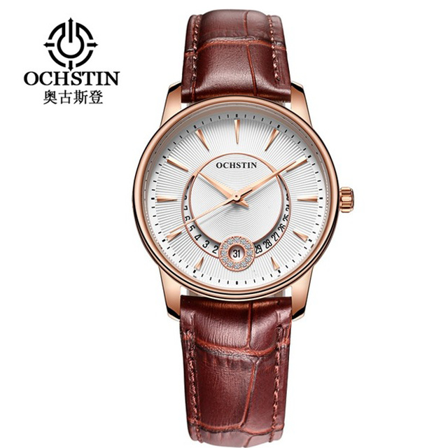 Women Watch OCHSTIN Brand Luxury Fashion Casual Unique Lady Wrist Watches Leather Quartz Waterproof Date Clock Relojes Mujer