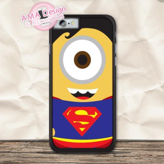 Comic Hero Superman Minioo Phone Cover Case For iPhone X 8 7 6 6s Plus 5 5s SE 5c 4 4s For iPod Touch