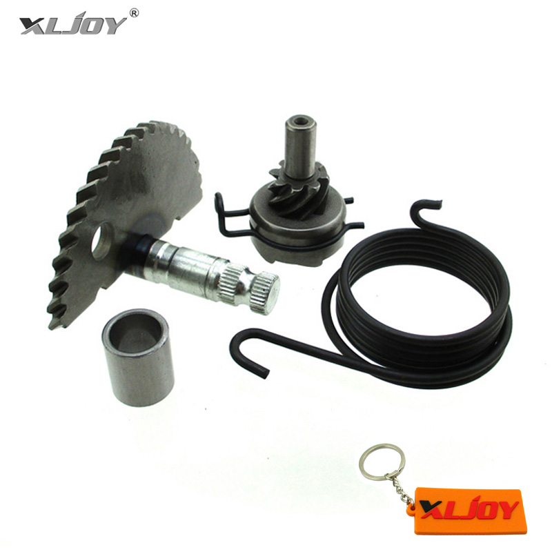 US $11 38 20% OFF|XLJOY Kick Starter Start Gear Assembly For 49cc 50cc 60cc  80cc 100cc GY6 139QMB P139QMB 4 stroke engine Scooter Moped-in