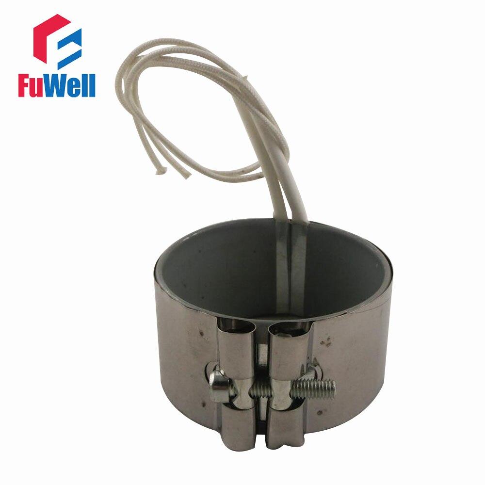 Заказной 80*50 мм 220V 370W нержавеющая сталь Нагреватель Группа слюды нагревательный элемент