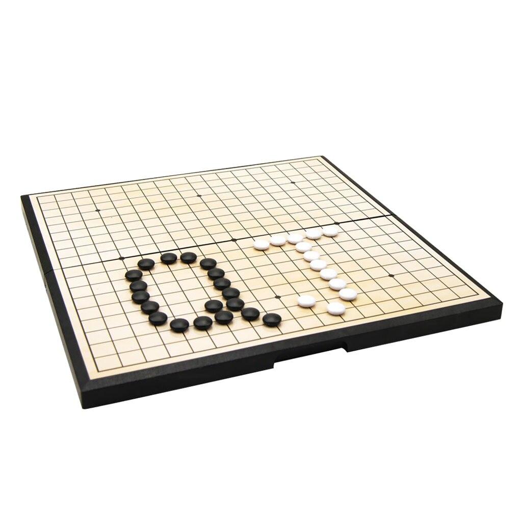 tabuleiro de xadrez dobrável goban 301 pedras