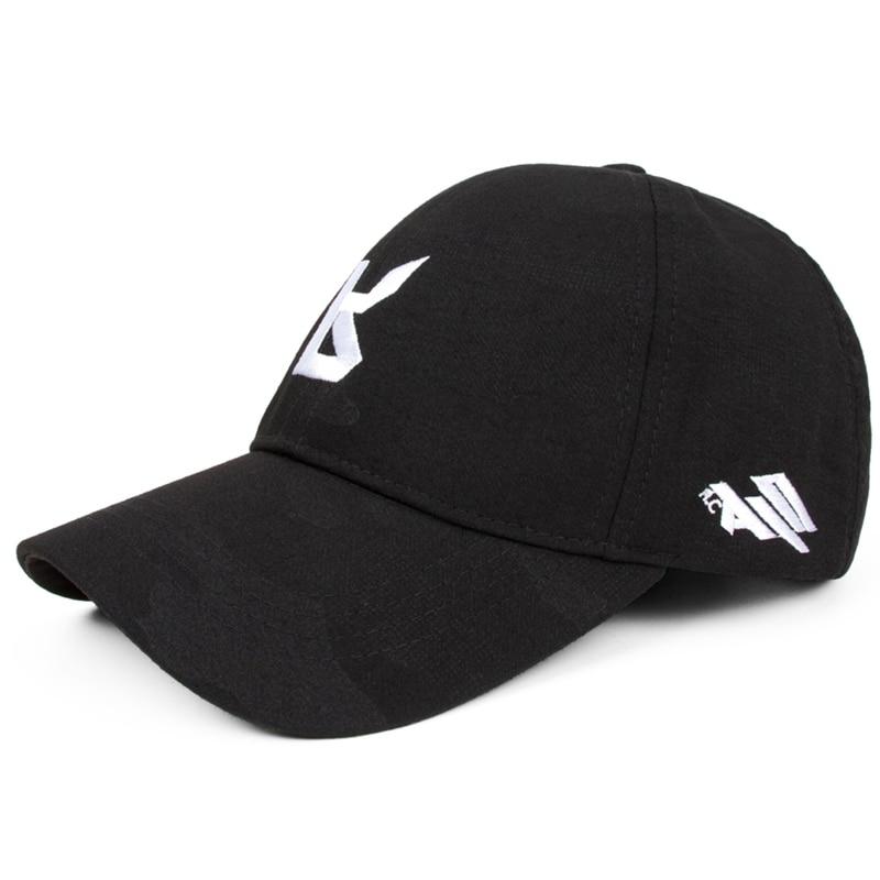 Male cap women baseball cap plus size letter fashion embroidery personality casual hat bone para bordar