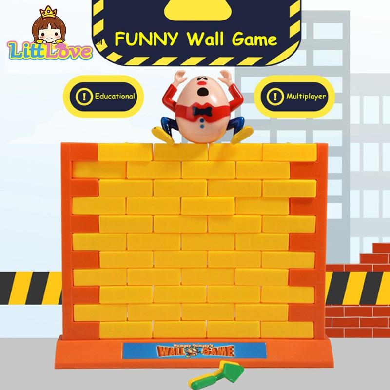 LittLove 2017 Roliga Gadgets Push Wall Board Game Demolish Creative - Nya föremål och humoristiska leksaker - Foto 2