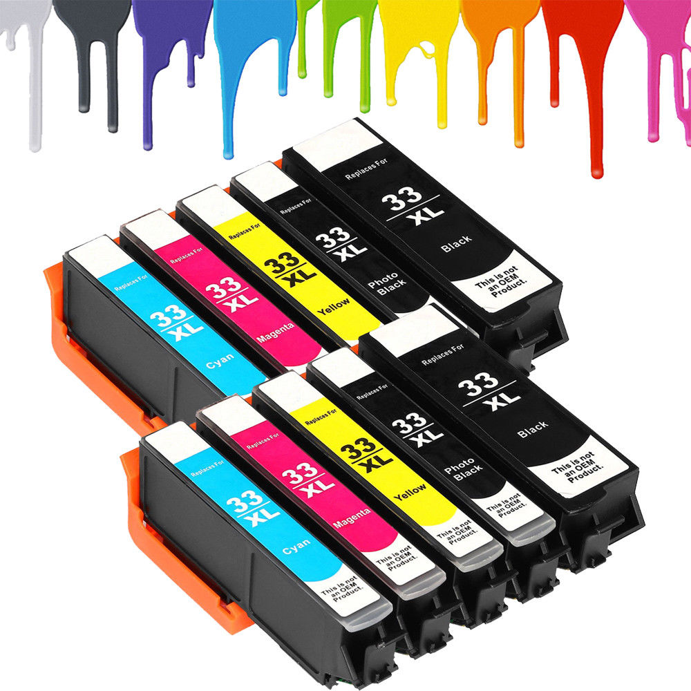 Full Set of non-OEM Ink Cartridges for Epson Expression PREMIUM XP-530 XP-540