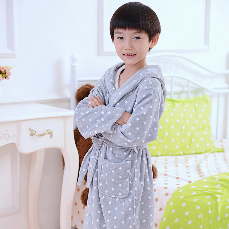 Children Bathrobe Baby Cotton Men Nightgown Summer Towel Fleece Cartoon Cap Boys And Girls Bathing Bath Spa Christmas Spring Toys & Hobbies