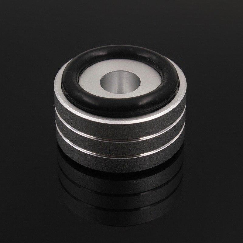 Mayitr 4 pcs de luxe En Aluminium Haut-Parleur Tapis D'isolation 40x20mm Ruban Platine DAC Lecteur CD Amplificateur Pieds D'isolation pad Stand