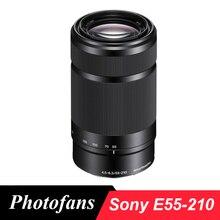 Sony 55-210 e 55-210 мм f/4.5-6.3 OSS E-Mount Оптические стёкла (черный) Для Sony A5000 A5100 A6000 A6300 A6500