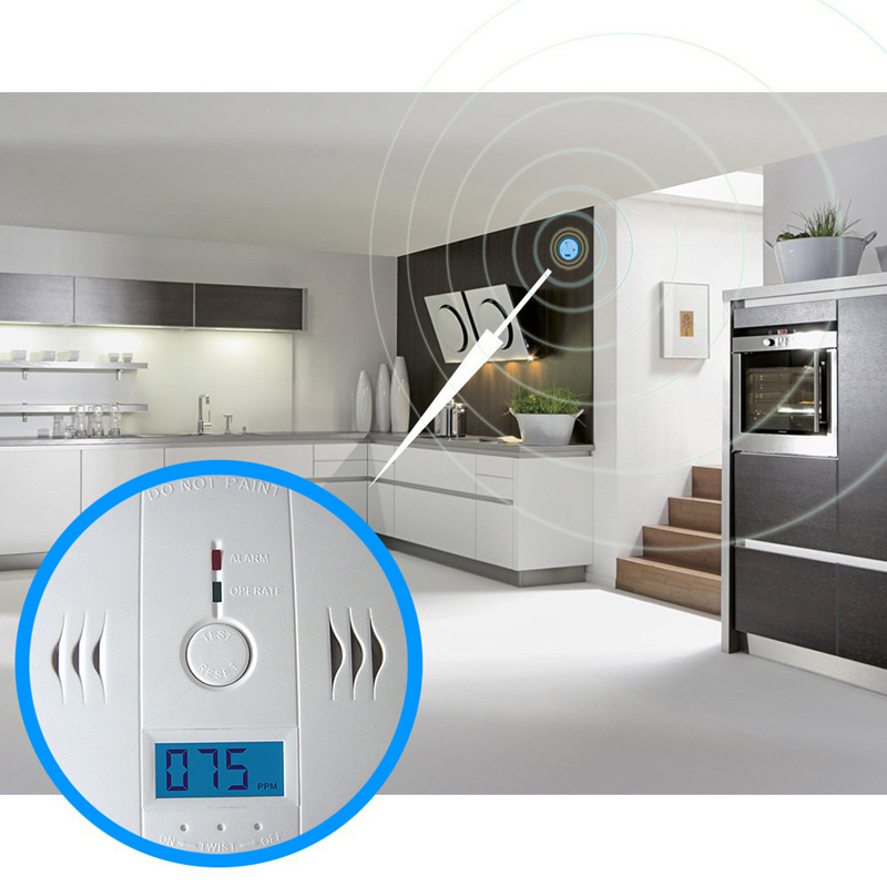 1 Pcs High sensitivity to Carbon Monoxide Poisoning Alarm Sensor Gas Leak Detector Natural lpg lng Coal for Security FC 2017 kerui gas detector home kitchen security combustible lpg lng coal natural gas leak alarm clock sensor with voice warning