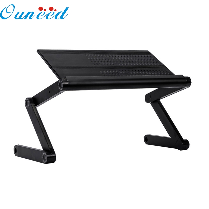 Zero Portable Laptop Table Stand Adjustable Multifunctional Vented Mount Computer Desk Portable Bed Tray Book Stand Readi 170117 wall mount table stand