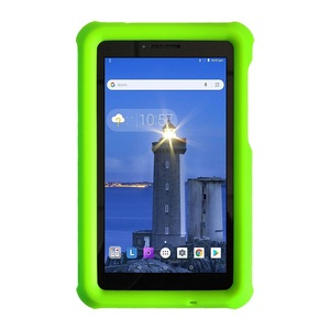 Image 1 - MingShore For Lenovo Tab E7 2018 kids Silicone Shockproof Soft Cover Case For Lenovo Tab E7 7.0 inch TB 7104F Tablet Rugged Case