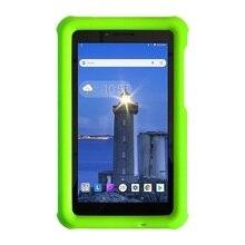 MingShore dla Lenovo Tab E7 2018 dzieci silikonowe, odporne na wstrząsy miękkie pokrywy skrzynka dla Lenovo Tab E7 7.0 cal TB 7104F Tablet wytrzymała obudowa