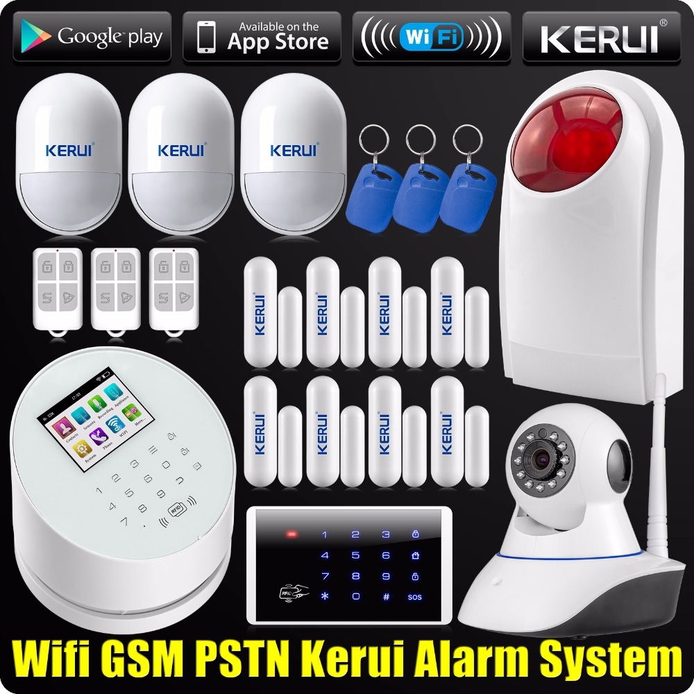 DHL EMS Delivery WiFi GSM PSTN RFID Security Alarm System ISO Android App Wireless Keypad Wifi Camera Outdoor Siren dipal r patel paridhi bhargava and kamal singh rathore ethosomes a phyto drug delivery system