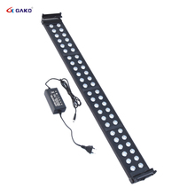 95~115cm 40W Aquarium plant Lighting Fish Tank Light Lamp with Extendable Brackets 32 White 16 Blue LEDs Fits for