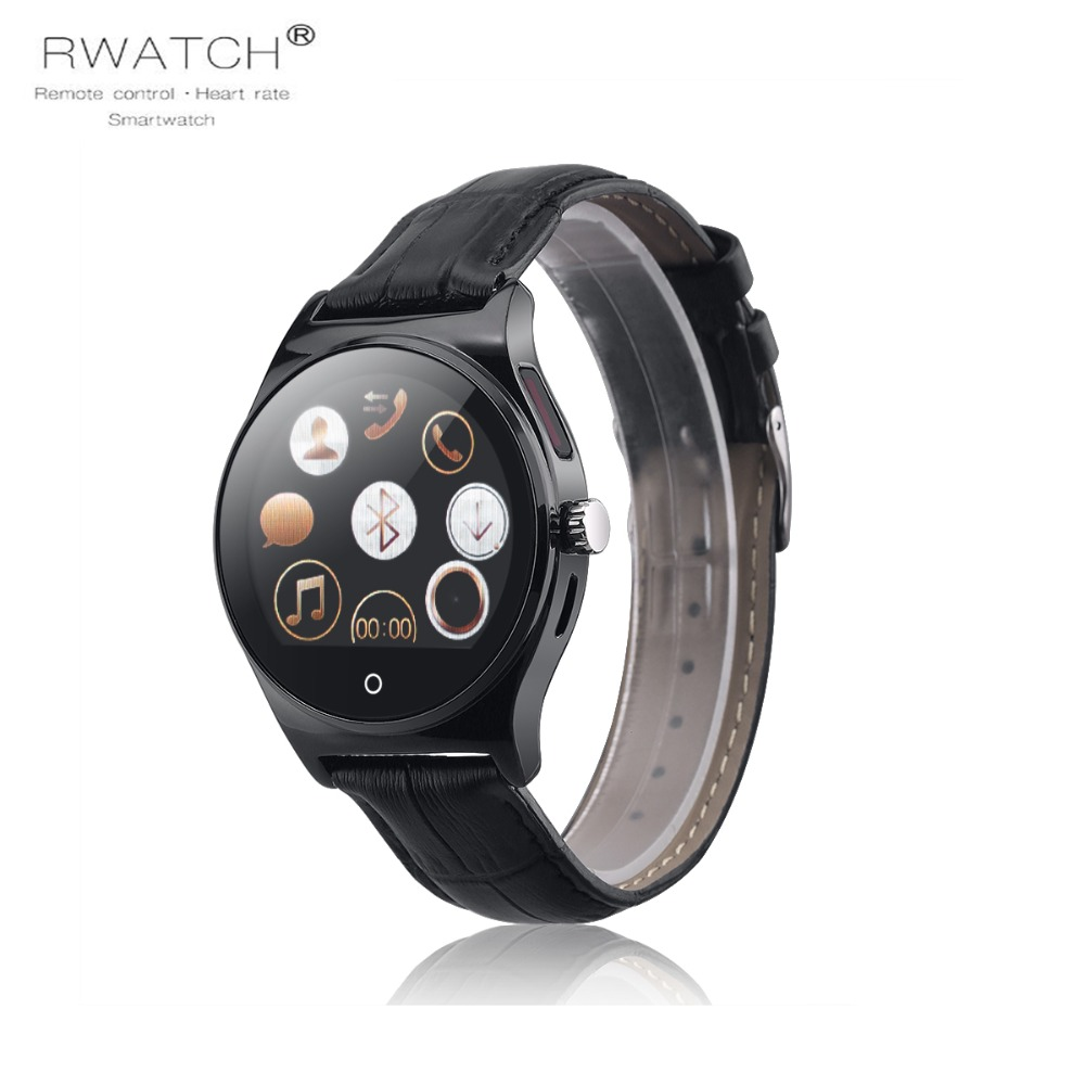 NEW RWATCH R11 Smart Watch Remote Controller Heart Rate Calls/SMS Sedentary Reminder Sleep Monitor smartwatch for Android IOS z4 smartwatch android ios compatible ip67 waterproof heart rate monitor smart watch sedentary reminder pedometer remote camera