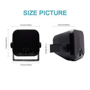 Image 3 - 100W 4 אינץ ימי עמיד למים Bluetooth תיבת רמקולים קומפקטי אודיו סטריאו צליל מערכת רמקול עבור סירת עגלת גולף טרקטורונים UTV