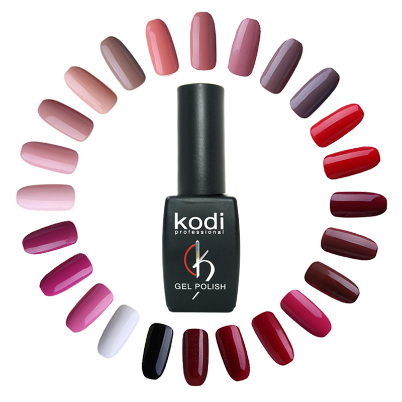 Kodi Gellak 8ml Hot Sale Colors Nail Art Gel Pure Color