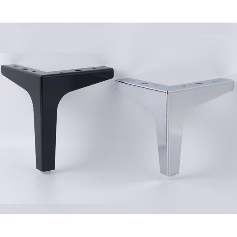 4Pcs/  H=15.2CM Sofa Cupboard Cabinet Furniture Leg Legs Feet Screws
