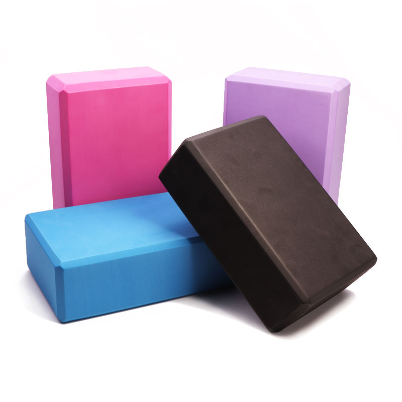 EVA Color Yoga Block Brick Sports Exercise Gym Foam Workout Stretching Aid Body Shaping Health Training Fitness Brick