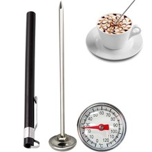 Stainless Steel Probe Thermometer Instant Read Kitchen Food Cooking Milk Coffee Meat BBQ Safely Kitchen Tools(China)