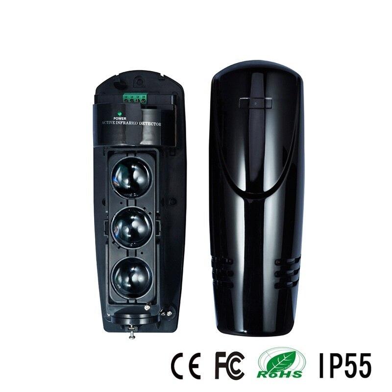 Capteur triple faisceau pour le système d'alarme antivol avec distance de détecteur de 100 m