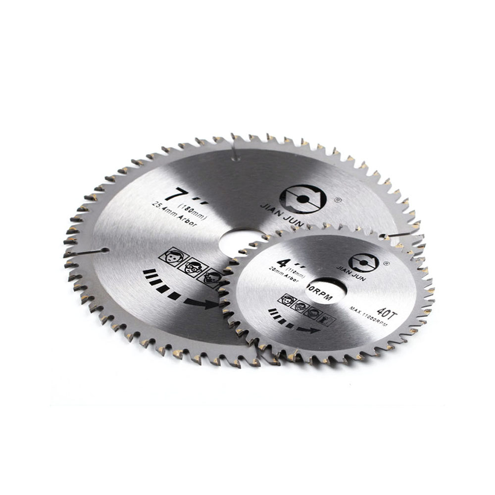 Carbide Saw Blade Disc 1 PC Discs Wood Piece Angle 40/60 Teeth Cutting Grinder Circular Ultra-thin Cutting For 7 Inch TCT