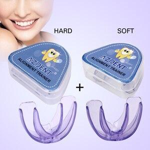 تقويم الأسنان الأقواس الأسنان الأقواس Instanted سيليكون ابتسامة الأسنان محاذاة المدرب الأسنان التوكيل حامي الفم الأقواس الأسنان صينية