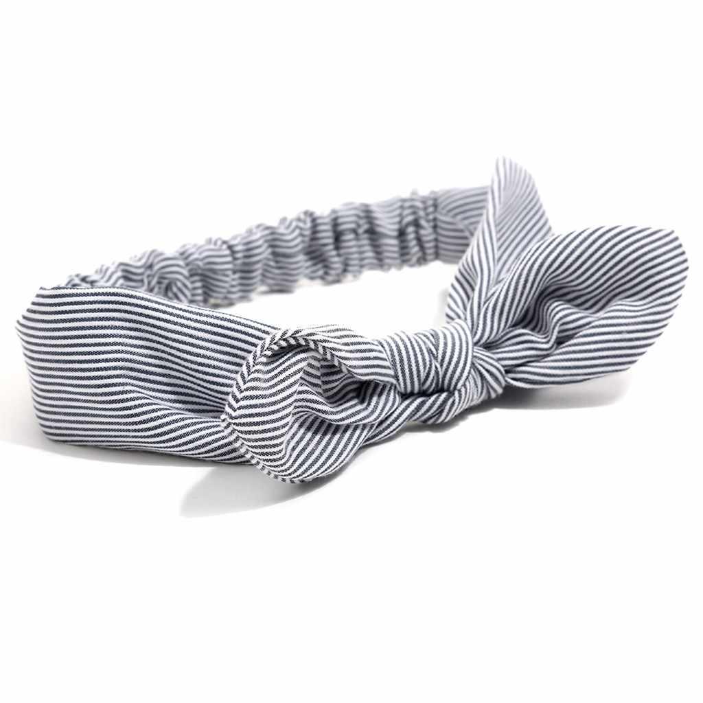 ทารก headbands แฟชั่นน่ารักหวานเด็กทารก bow headband สาวลาย bows Knot ผมเด็กอุปกรณ์เสริม