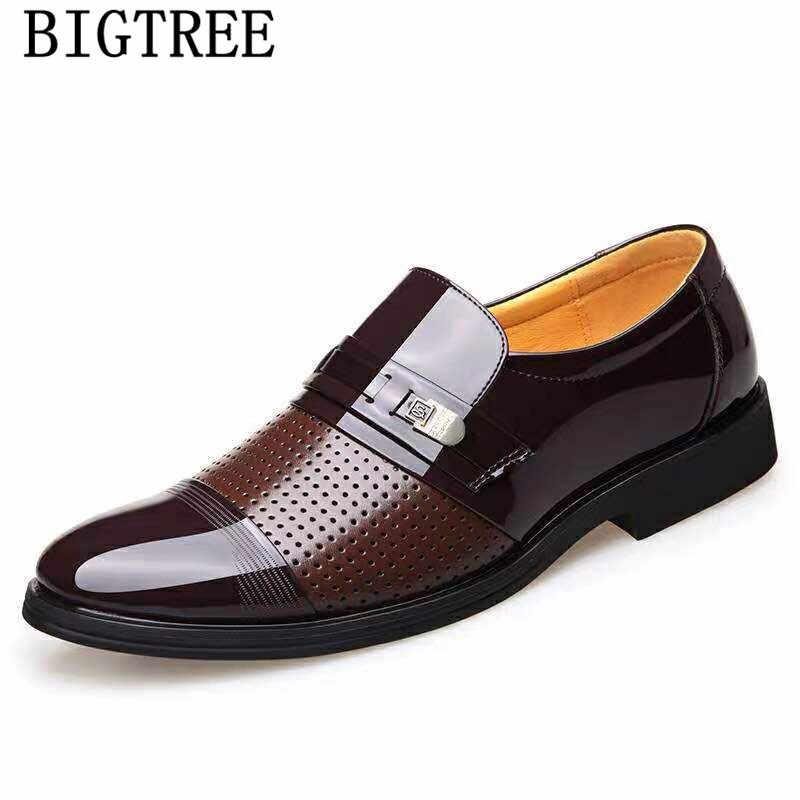 ウェディングドレススーツフォーマルなローファー男性でドレスシューズビジネスシューズ男性オックスフォード革 zapatos のやつ vestir